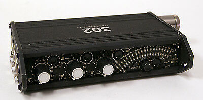 Used Sound Devices 302 3 Channel Field Mixer