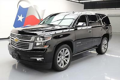 2015 Chevrolet Tahoe LTZ Sport Utility 4-Door 2015 CHEVY TAHOE LTZ 7-PASS SUNROOF NAV DVD 22'S 35K MI #127854 Texas Direct