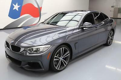 2015 BMW 4-Series Base Hatchback 4-Door 2015 BMW 435I GRAN COUPE M SPORT HTD SEATS SUNROOF NAV  #954892 Texas Direct