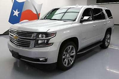2016 Chevrolet Tahoe LTZ Sport Utility 4-Door 2016 CHEVY TAHOE LTZ SUNROOF NAV DVD 7-PASS 22'S 21K MI #141913 Texas Direct