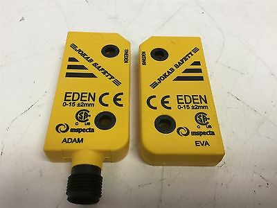 Jokab Safety Eden Safety Sensor Module Adam and Eva Inspecta, 0-15mm + or - 2mm