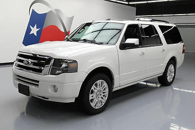 2014 Ford Expedition Limited Sport Utility 4-Door 2014 FORD EXPEDITION EL LTD SUNROOF NAV 7-PASS 20'S 58K #F59202 Texas Direct