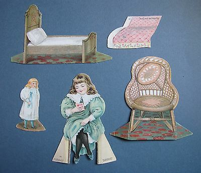 McLaughlin Coffee Paper Doll Toy Set # 14