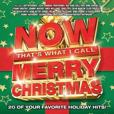 Now Merry Christmas by Various Artists (CD, Oct-2016, Capitol)