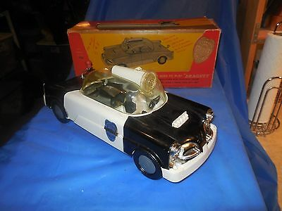 1955-57 Studebaker Dragnet Police Car Made By Ideal In Original Box!! Rare Find!
