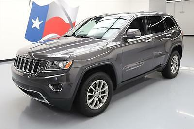 2014 Jeep Grand Cherokee Limited Sport Utility 4-Door 2014 JEEP GRAND CHEROKEE LIMITED 4X4 SUNROOF NAV 26K MI #478351 Texas Direct