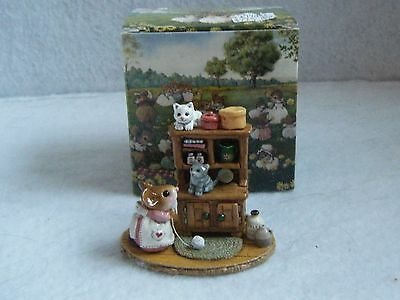 Wee Forest Folk - Kitty Cupboard M-480a - New w/Box Pink Dress