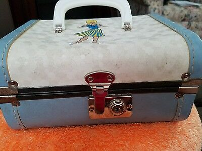 Vintage Doll Suitcase