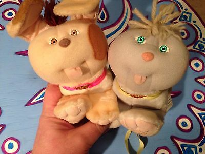 Vintage Coleco Cpk Cabbage Patch Kids Doll Cat Dog Pet Lot Xavier Roberts