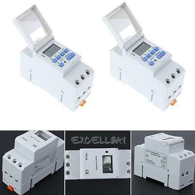 Electronic LCD Digital Switch Weekly Programmable Relay Switch Timer Controller