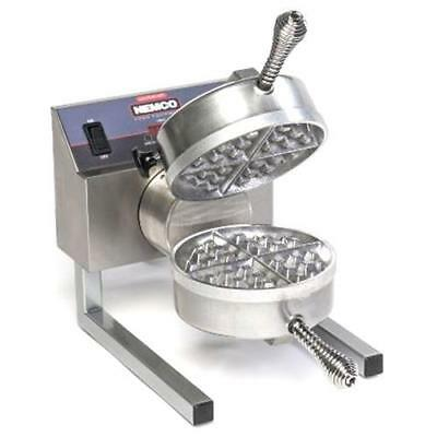 Nemco - 7020A-S - Belgian Waffle Bakers with Removable Silverstone Plates