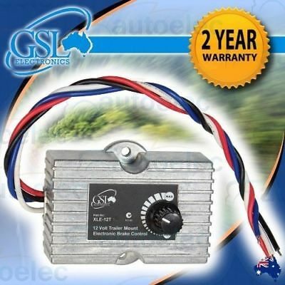 Gsl Xle12T Trailer Mount Electric Brake Controller Camper Caravan 4Wd Camping