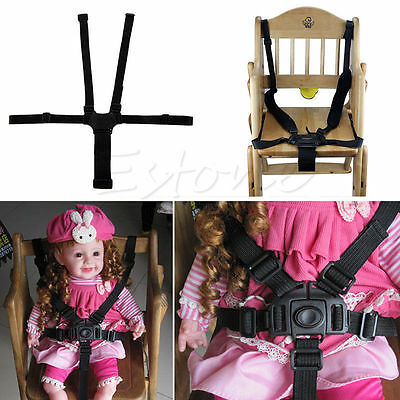 5 Point Safety Baby Harness Stroller Kids High Chair Pram Buggy Car Belt Strap