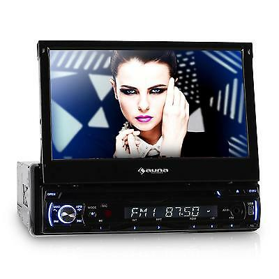 "Autoradio Reproductor Coche Dvd Cd Mp3 Sd Radio Pantalla Tactil 7"" Lcd Bluetooth"