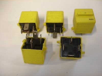 YWB10012 MULTI USE YELLOW RELAY UNIT Starter Fog Lamps Horn Etc CLASSIC MINI