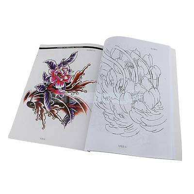 - CLASSICAL TATTOO SKETCHBOOK Flash Coloring Reference For Women Lady Body Art  - £10.99 PicClick UK