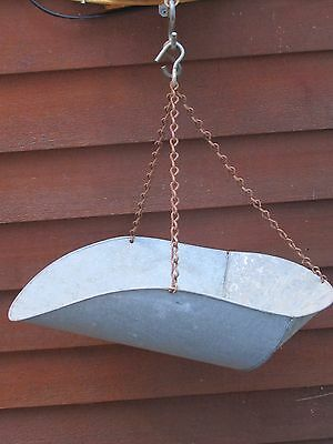 Vintage  Hanging Scale Basket