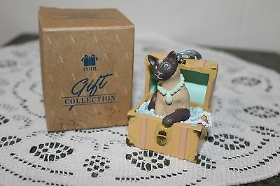Avon  Vintage  Gift  Collection  Ornament...christmas  Dress  Up  Jewelry  Box