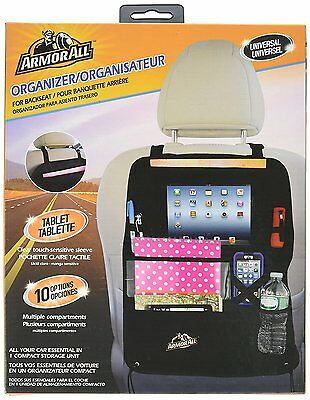 Armor All AS07-0115-BLK 8-In-1 Backseat Organizer