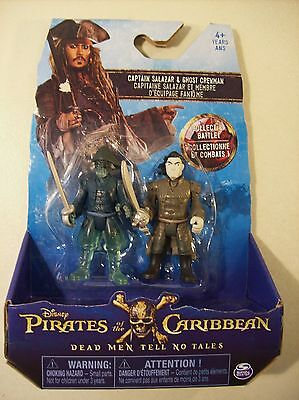New Disney Pirates Of The Caribbean Dead Men Tell No Tales Salazar Ghost Figures