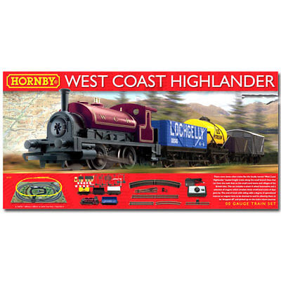 HORNBY Set R1157 West Coast Highlander Train Set