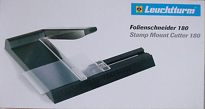 LIGHTHOUSE STAMP MOUNT CUTTER 180 GUILLOTINE & Stainless Steel Blade No. 319 565