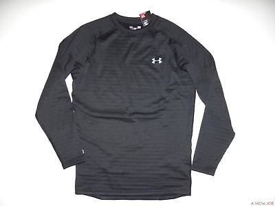 New Under Armour Mens UA 4.0 Crew Fitted Ski Snowboard Base Layer Shirt Large