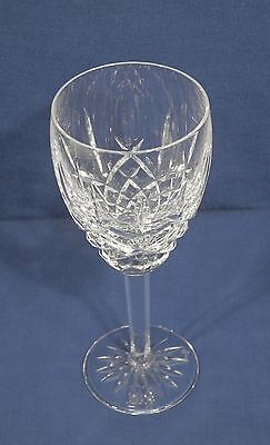 "Waterford Crystal Glass Araglin Wine Goblet 7-1/8"" x 2-5/8"" 1 of 14"