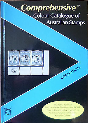 VST 2007 AUSTRALIAN STAMPS COMPREHENSIVE COLOUR CATALOGUE 4th EDITION Hard Cover