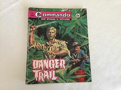 1972 Commando War Stories Comic - No 628 Danger Trail