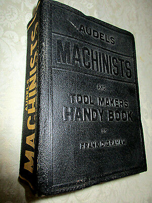 VINTAGE Audels Machinist and Tool makers Handy Book 1942 Frank Graham