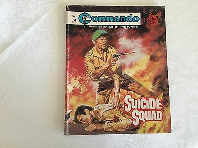 1972 Commando War Stories Comic - No 634 Suicide Squad