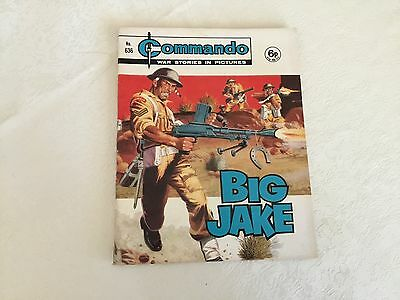 1972 Commando War Stories Comic - No 636 Big Jake