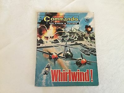 1972 Commando War Stories Comic - No 640 Whirlwind !
