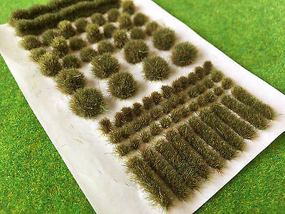 Autumn BIG True Tufts mixed -Model Scenery Static Grass Natural Railway Wild