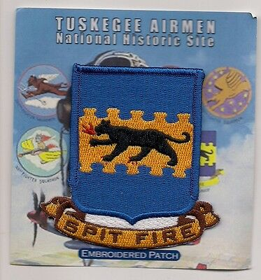 Tuskegee Airmen National Historic Site, Alabama Souvenir Patch -  - Spit Fire