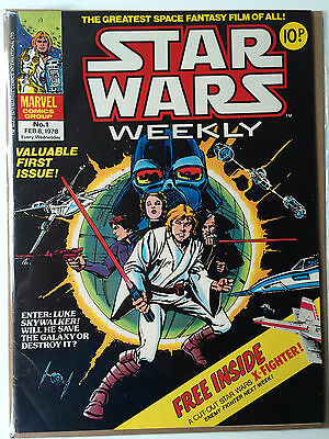 Star Wars Weekly #1 with Free Gift FN Rare
