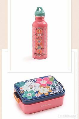 Matilda Jane  Freesia Sandwich lunch box Dahlia water bottle set Back to school