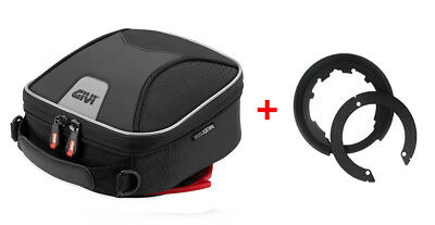 Givi Tanklock Combo Kit - XS319 XStream Mini Tank Bag & BF11 Tank Ring Mount