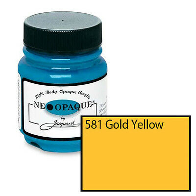 JACQUARD Neopaque 2.25 oz Bottle Gold Yellow