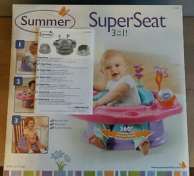 Summer Infant 3 in 1 Activity Booster Super Seat