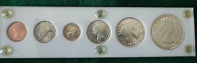 1959 Canadian Silver Proof-Like Set in Capitol Plastic Holder