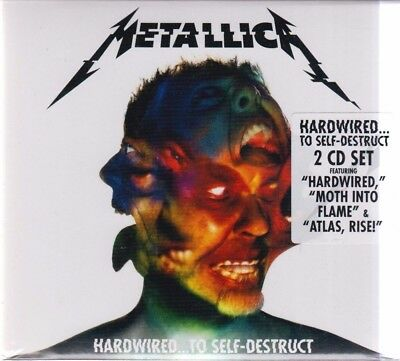 Hardwired...To Self-Destruct [Digipak] by Metallica (CD, Nov-2016, 2 Discs) NEW