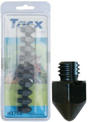 Tacx pack of 10 studs 3/8 17mm pointed stub tacx