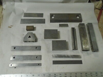 MACHINIST TOOLS  LATHE MILL Machinist Lot of Set Up and Parallel Blocks