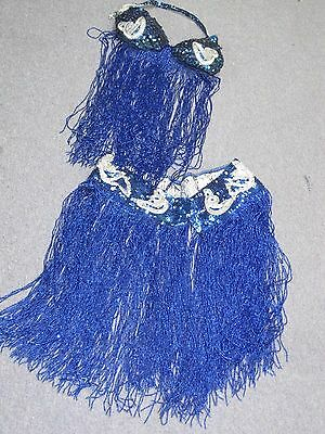 Vintage Professional Sequin & Glass Beaded belly-dance costume Small Handmade