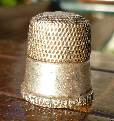 Antique Towle 1136 Sterling Silver Sewing Thimble