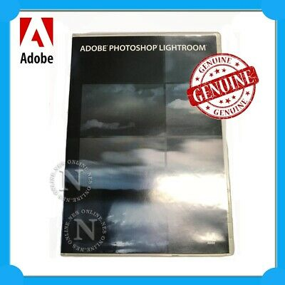 Adobe Genuine Photoshop Lightroom 1.0 for PC & MAC P/N:19250094