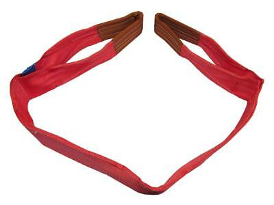 5 Ton x 8 Metre Duplex Web Sling - 150MM Red Strap Hoist Lifting Strop 5000KG Pr