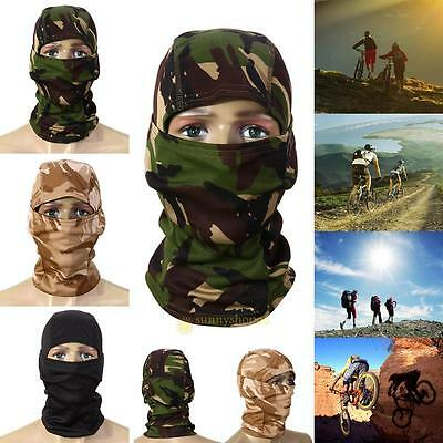 3D Camouflage Camo Headgear Balaclava Full Face Protect Mask for Fishing Hunting